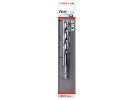 BOSCH Spirálový vrták sšestihrannou stopkou HSS 10,0 mm Professional