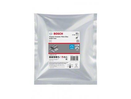 BOSCH Fíbrový brusný kotouč Prisma Ceramic, R782 Inox, 100mm, 16mm, G60 Professional
