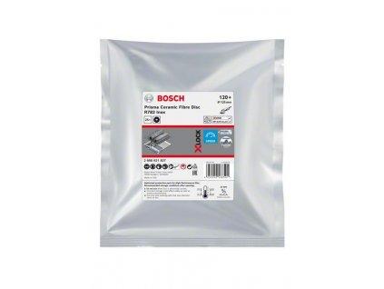 BOSCH X-LOCK fíbrový brusný kotouč Prisma Ceramic, R782 Inox, 125mm, 22,23mm, G120 Professional