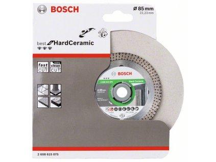 BOSCH Diamantový dělicí kotouč Best for Hard Ceramic Professional