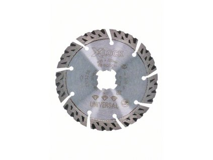 BOSCH X-LOCK Best for Universal, 125×22,23×2,4×12 Professional