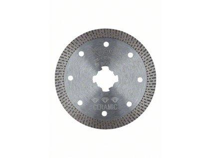 BOSCH Diamantový řezný kotouč Best for Hard Ceramic systému X-LOCK, 115×22,23×1,4×10 Professional