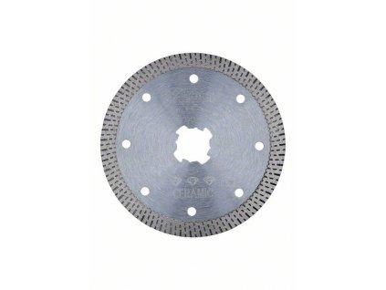 BOSCH Diamantový řezný kotouč Best for Hard Ceramic systému X-LOCK, 125×22,23×1,6×10 Professional