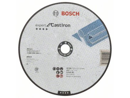 BOSCH Dělicí kotouč rovný Expert for Cast Iron Professional