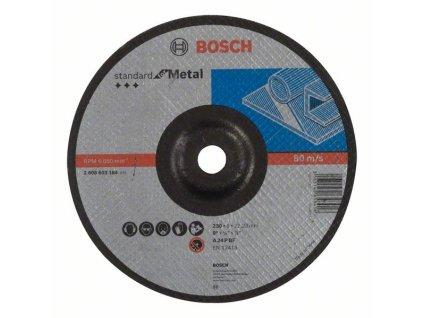 BOSCH Hrubovací kotouč profilovaný Standard for Metal Professional