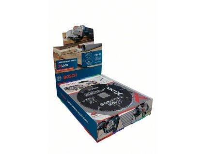 BOSCH X-LOCK CMW 10ks ×125mm Professional