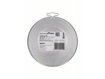 BOSCH X-LOCK Standard for Inox 10× 125 × 1,6mm T41 Professional