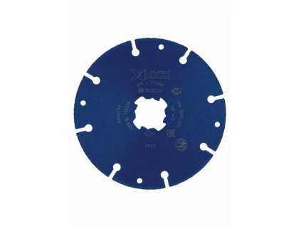 BOSCH X-LOCK diamantový kotouč na kov 115×22,23mm Professional