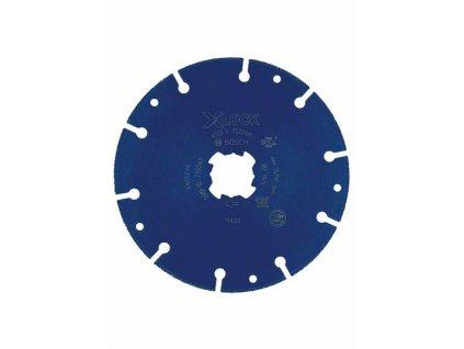 BOSCH X-LOCK diamantový kotouč na kov 125×22,23mm Professional