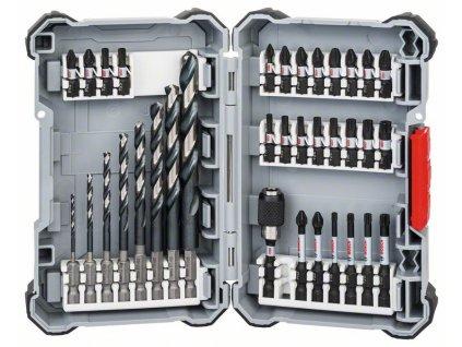BOSCH Sada vrtáků Impact Control HSS asada šroubovacích bitů, 35 kusů Professional