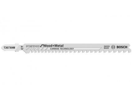 BOSCH 3dílná sada T367XHM Progressor for Wood + Metal Professional