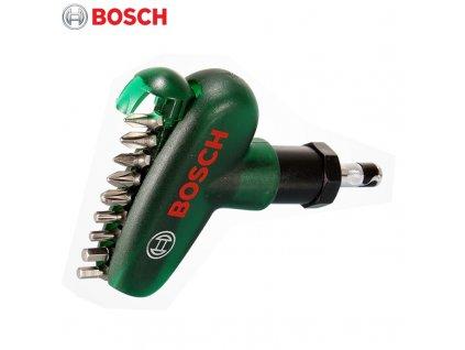 Bosch 10pcs Ratchet Pocket Screwdriver Hand Screw Driver Bit Set