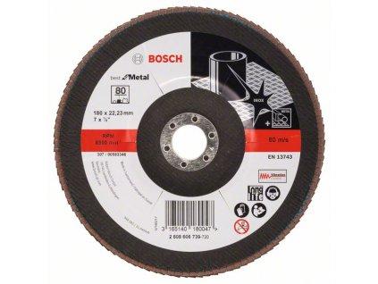 BOSCH Lamelový brusný kotouč X571, Best for Metal Professional