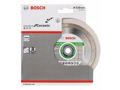 BOSCH Diamantový dělicí kotouč Standard for Ceramic Professional