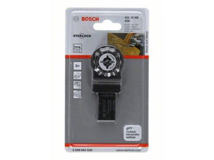 Ponorný pilový list BIM AIZ 20 AB Wood and Metal
