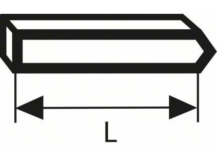 BOSCH Kolíčky, typ 40 Professional