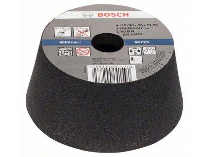 BOSCH Brusný hrnec, kónický - kámen/beton Professional