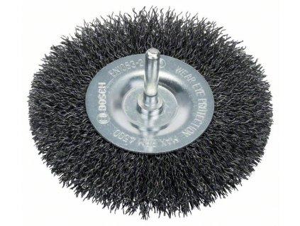 BOSCH Kotoučový drátěný kartáč, zvlněný drát, 100×0,3mm, ocel Professional