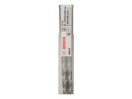 BOSCH Vrtáky do kovu HSS-G, DIN 340 Professional