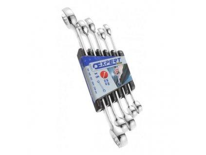 TONA Sada klíčů na převlečné matice 5d 7-19mm