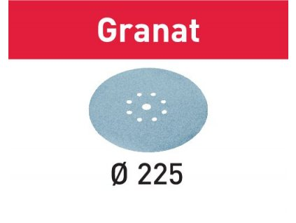 Brusné kotouče STF D225/8 P240 GR/25 Granat