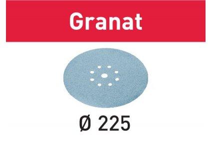 Brusné kotouče STF D225/8 P220 GR/25 Granat