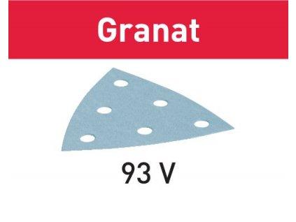 Brusný papír STF V93/6 P60 GR/50 Granat