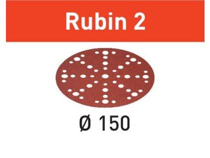 Brusné kotouče STF D150/48 P40 RU2/50 Rubin 2