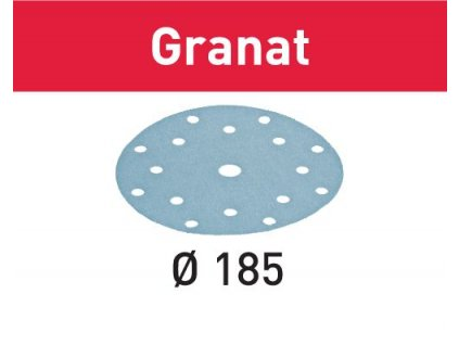 Brusné kotouče STF D185/16 P40 GR/50 Granat