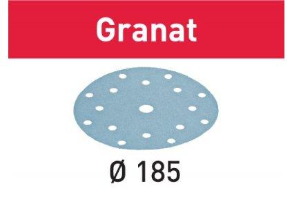 Brusné kotouče STF D185/16 P80 GR/50 Granat