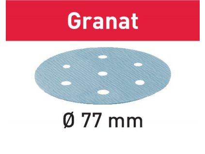 Brusné kotouče STF D77/6 P500 GR/50 Granat