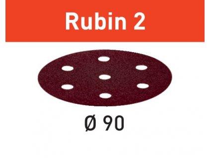 Brusné kotouče STF D90/6 P60 RU2/50 Rubin 2