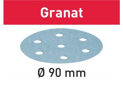 Brusné kotouče STF D90/6 P80 GR/50 Granat