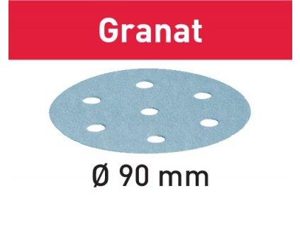 Brusné kotouče STF D90/6 P1500 GR/50 Granat
