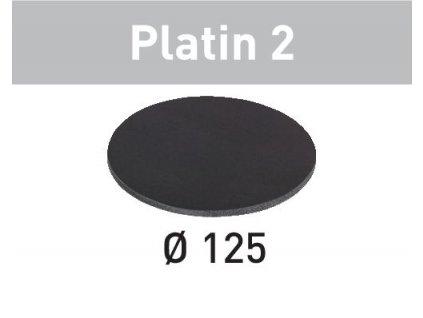 Brusné kotouče STF D125/0 S500 PL2/15 Platin 2
