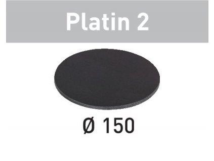 Brusné kotouče STF D150/0 S500 PL2/15 Platin 2