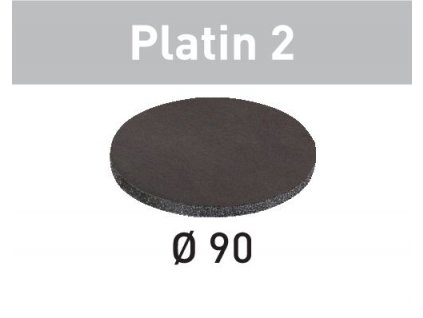 Brusné kotouče STF D 90/0 S4000 PL2/15 Platin 2