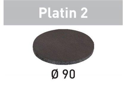 Brusné kotouče STF D 90/0 S500 PL2/15 Platin 2