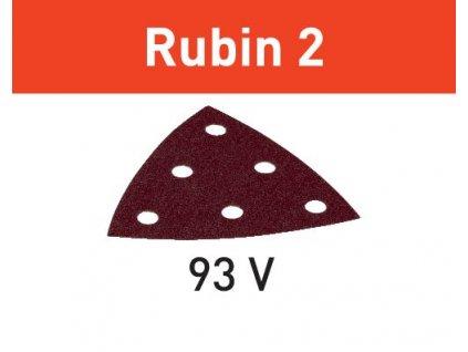 Brusný papír STF V93/6 P120 RU2/50 Rubin 2