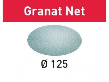 Brusivo s brusnou mřížkou STF D125 P180 GR NET/50 Granat Net