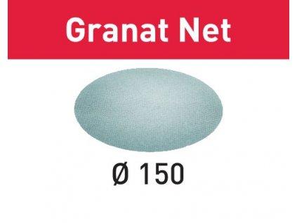 Brusivo s brusnou mřížkou STF D150 P240 GR NET/50 Granat Net