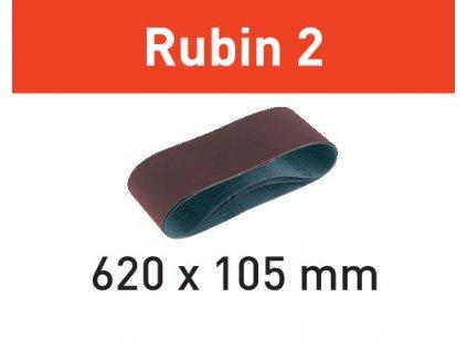 Brusný pás L620X105-P40 RU2/10 Rubin 2
