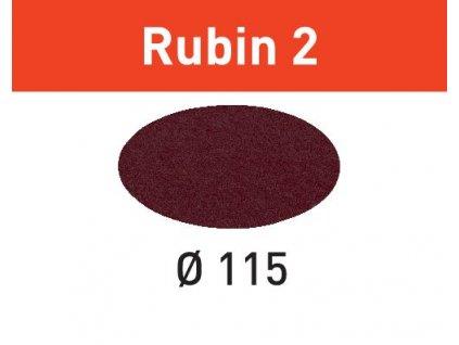 Brusné kotouče STF D115 P120 RU2/50 Rubin 2