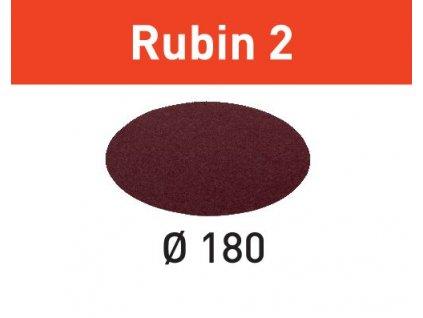 Brusné kotouče STF D180/0 P60 RU2/50 Rubin 2