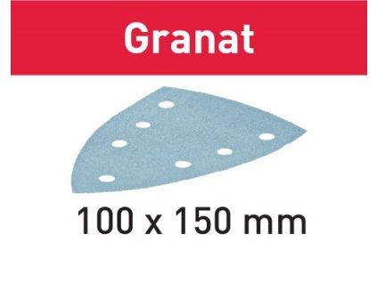 Brusný papír STF DELTA/7 P80 GR/50 Granat