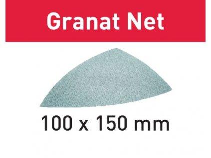 Brusivo s brusnou mřížkou STF DELTA P220 GR NET/50 Granat Net