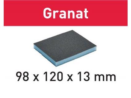 Brusná houba 98x120x13 60 GR/6 Granat