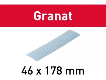 Brusný papír STF 46X178 P80 GR/10
