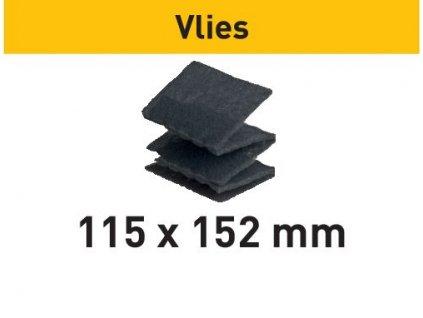Brusné kotouče vlies 115x152 SF 800 VL/30 Vlies