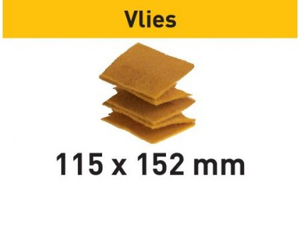 Brusné kotouče vlies 115x152 UF 1000 VL/30 Vlies